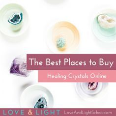 As a lover of crystals, people often turn to me for the best sources for buying crystals. Here are the best places to buy crystals online.