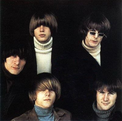The Byrds ...L - R ...Gene Clark, Michael Clarke, Jim McGuinn, David Crosby, Chris Hillman