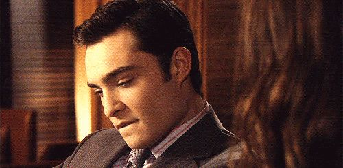 Well, his lip bites were otherworldly. | It's Time To Give Chuck Bass All The Recognition He Deserves