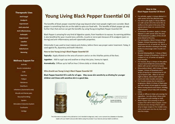 20 Best Black Pepper Young Living Images On Pinterest