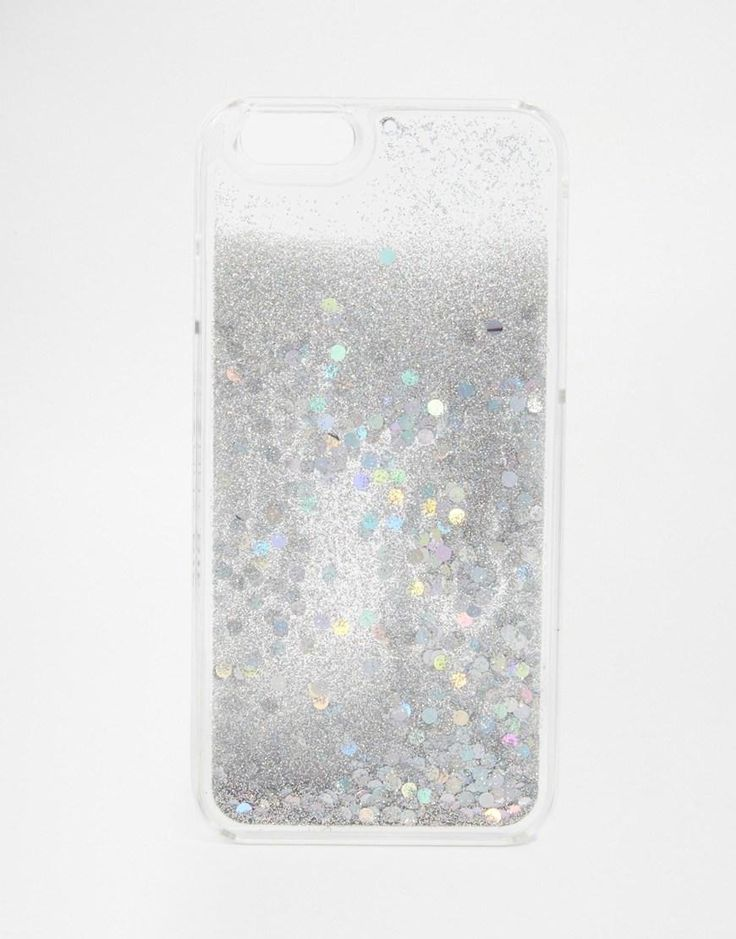 Skinnydip   Skinnydip Holographic Liquid Glitter iPhone 6 Case at ASOS