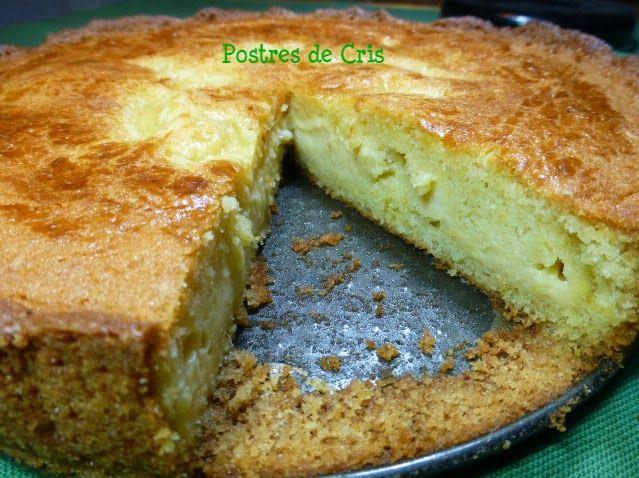 Postres de Cris: Pastel vasco: Desserts, Pastel Vasco, Recipe, Postres Sabroso, Postres Casero, Postres Con, Vídeo Recetas, De Cris, Dessert