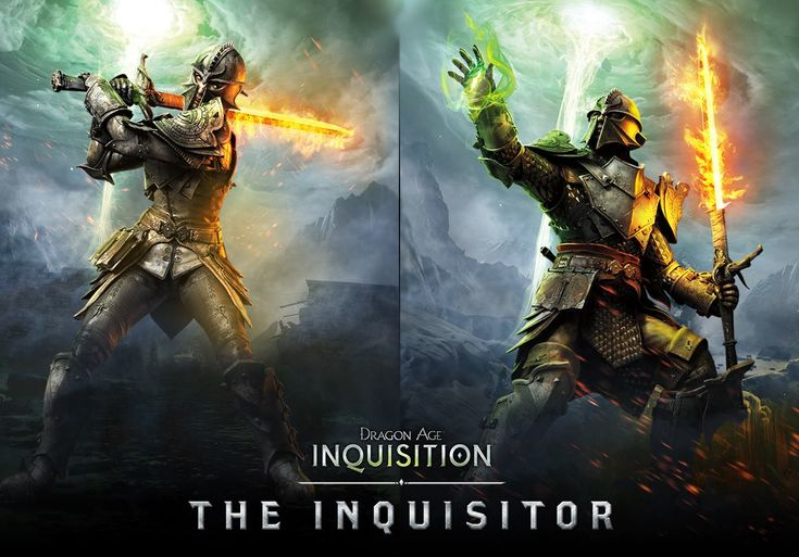 Dragon Age Inquisition Companions | New Dragon Age: Inquisition Artwork Shows Female & Male Inquisitor ...