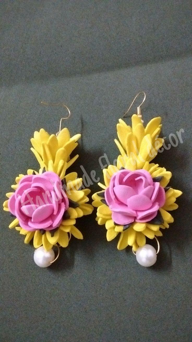 wwwfacebookcomhandmadefloraldecor 56 best Foam flowersMy creations images