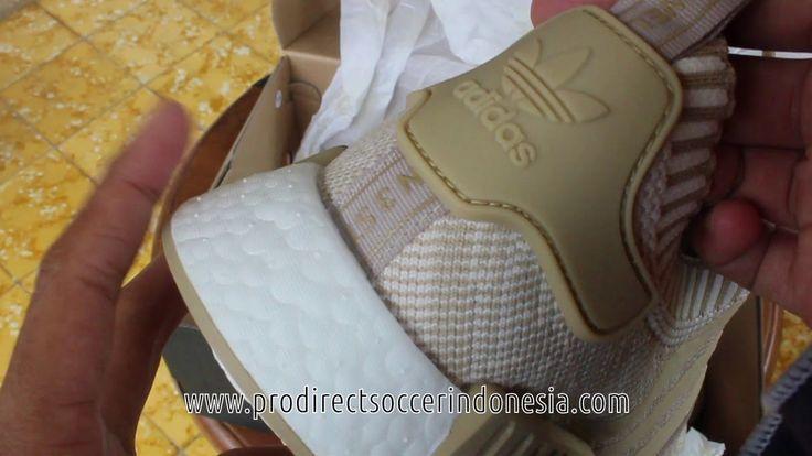 Sepatu Sneakers Adidas NMD R1 PK Linen Khaki BY1912 Original