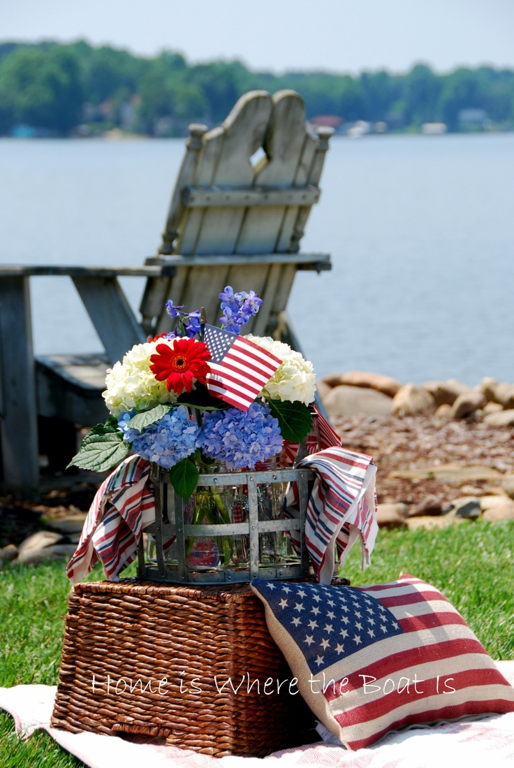 Have a seat and get ready for the fireworks!  Happy birthday America!