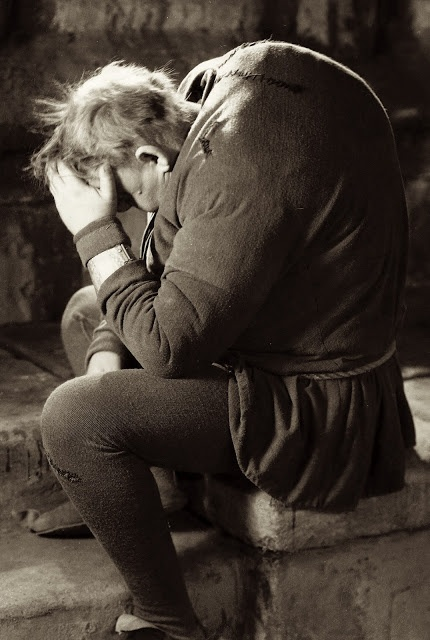 Charles Laughton in The Hunchback of Notre Dame (dir. William Dieterle, 1939). He made the best version of the story of Dumas' Hunchback .