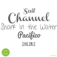 「sail font」の画像検索結果