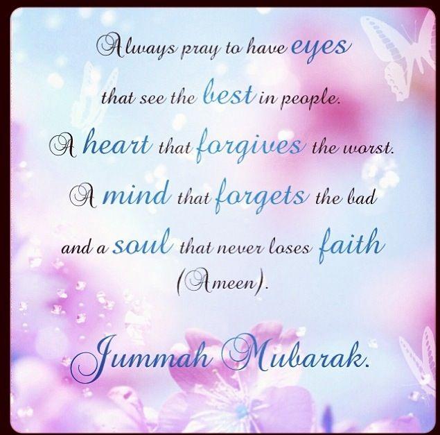 Jum3a mubarak