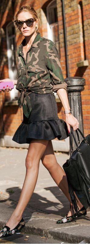 Olivia Palermo es sin duda una de las mujeres referente para las amantes del vestuario, principalmente por su espectacular sentido de la moda y su habilidad para mezclar con gracia y buen gusto prendas que jamás se nos hubiese ocurrido llevar juntas. Su estilo es absolutamente inspirador. De ahí que tenga miles de seguidores que adoran su forma de vestir y que sea la musa...