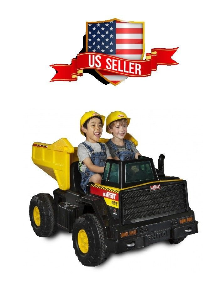 Tonka Mighty Dump Truck 12volt Battery Ed Kids Ride On W Charger Rideon Toy