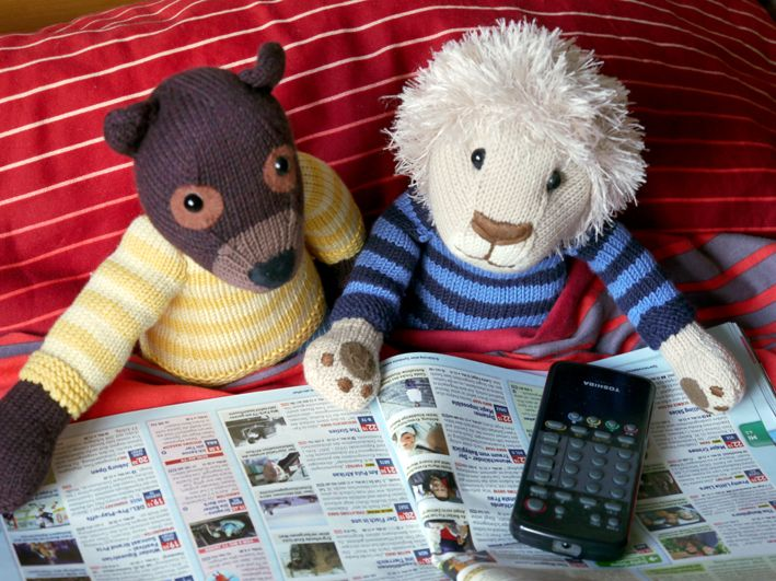 Nelson and Carlos search for documentaries (Serengeti, Grizzly, you name it ;-)