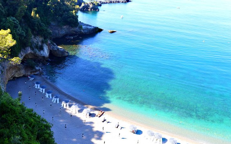 Near Fiascherino you'll find this beach - one of Italy's best.