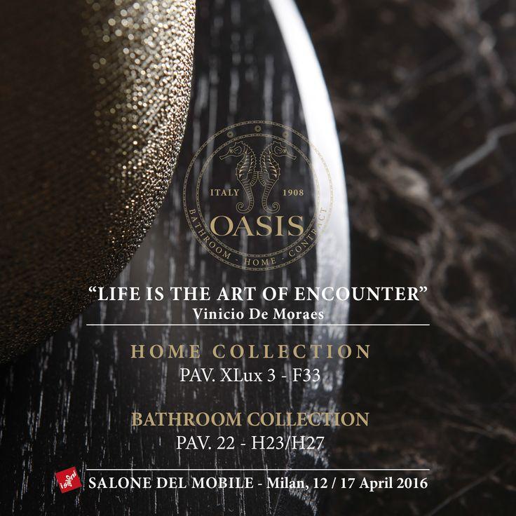 Invitation to the 55th edition of Salone del Mobile Milano, April 2016