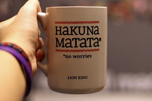 Wouldn't life be great if we could truly live with no worries?!: Sewing In, No Worry, No Worries, Coff Mugs, Wonder Phrases, Cups, Lion King, Disney, Greatest Quotes