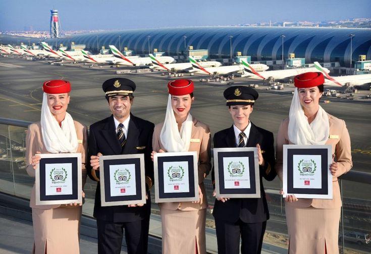 TripAdvisor: Emirates Named Best Airline in the World.