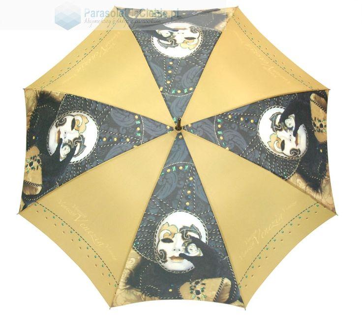 Niezwykły dodatek do karnawałowego kostiumu - parasol firmy Doppler z serii Art Collection. Oryginalna wenecka maska używana w okresie karnawału wygląda na prawdę rewelacyjnie!. Ten parasol możesz kupić 10% taniej w naszej karnawałowej promocji, używając kodu WzorowoKolorowo2016  #parasoledlaciebie #parasol #umbrella #umbrellashop #sklepzparasolami #karnawal #promocja