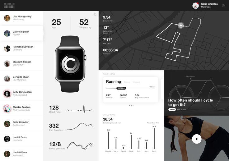 Sport tracking app