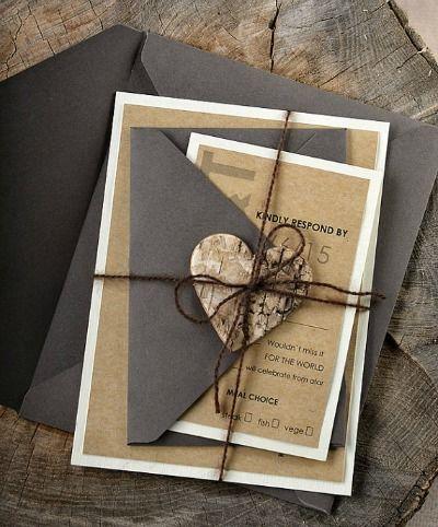 Sets de invitaciones de boda en craft | Holamama blog