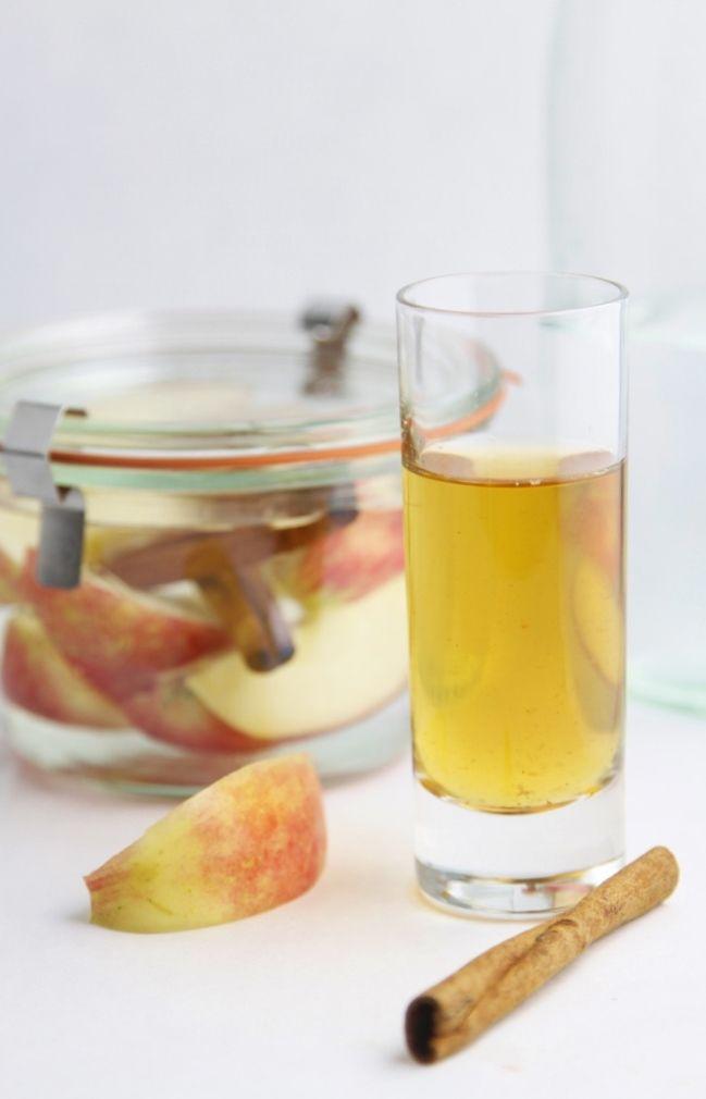 DIY Apple Cinnamon Infused Vodka