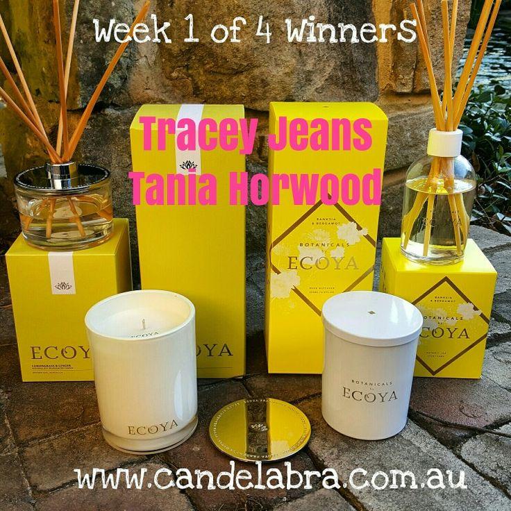 WEEK 1 Winners !!!