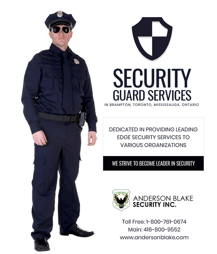 Best security guard services security guard services