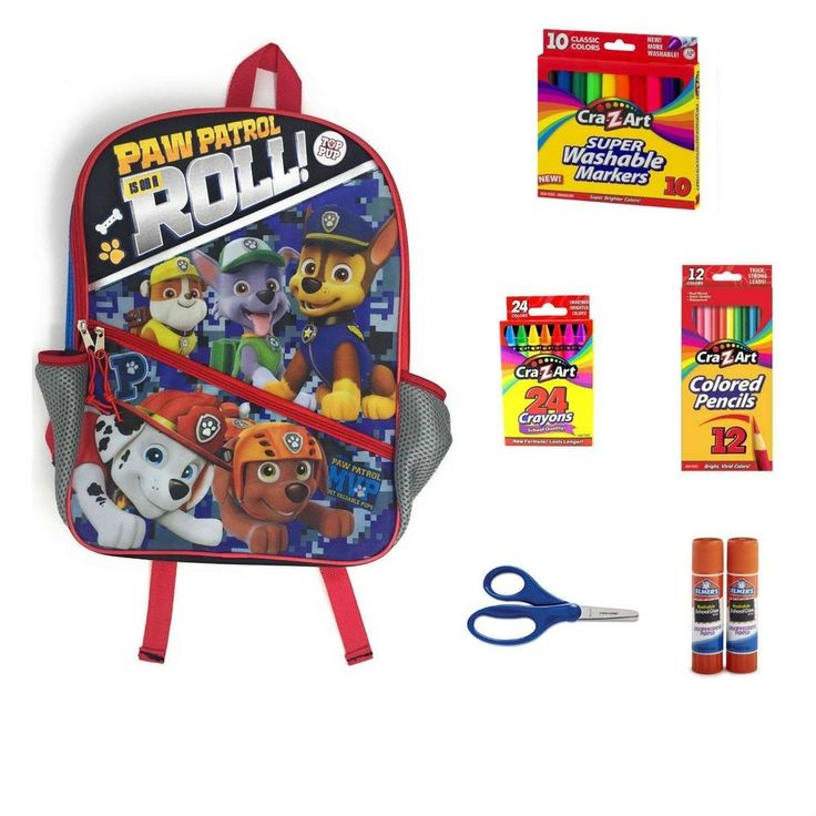 Kids Paw Patrol Is On a Roll Backpack for boys and girls. 53 Count School Sup... #HoneyBeaBumbles