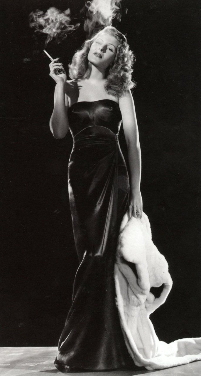 "The great Rita Hayworth in 1946. ""Gilda"" and see why she was a Star."