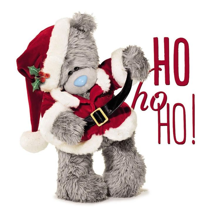 3D Holographic Bear In Santa Suit Me to You Bear Christmas Card £2.99