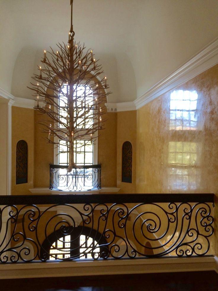 Custom iron railing designed by izabela wojcik