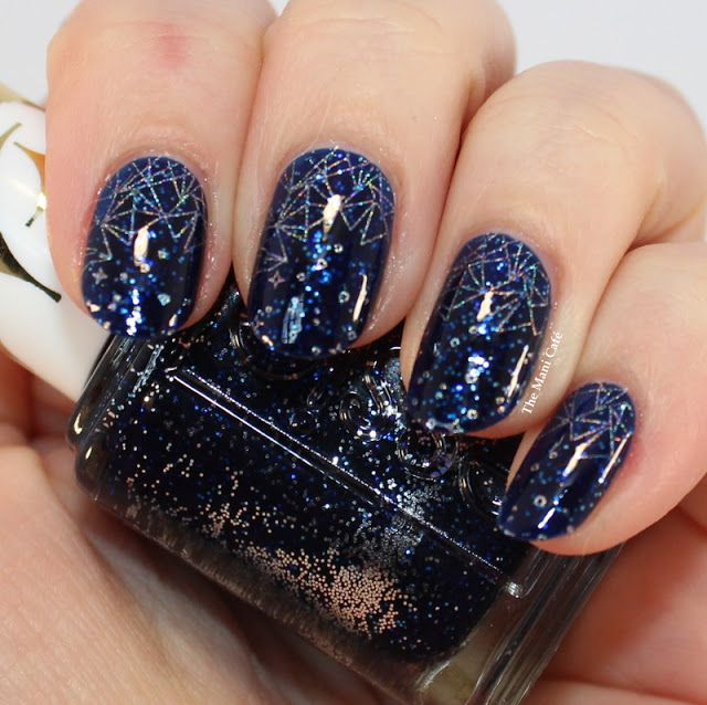 The Mani Café: Constellation - Essie Starry Starry Night & Moyou ...