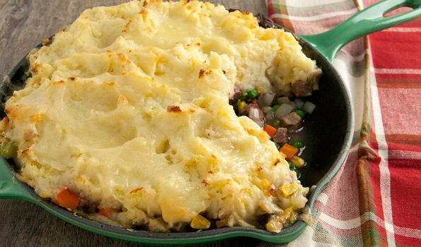 Skillet Shepherd's Pie: I just made this last night and my husband said it was the best he has ever had in his life!