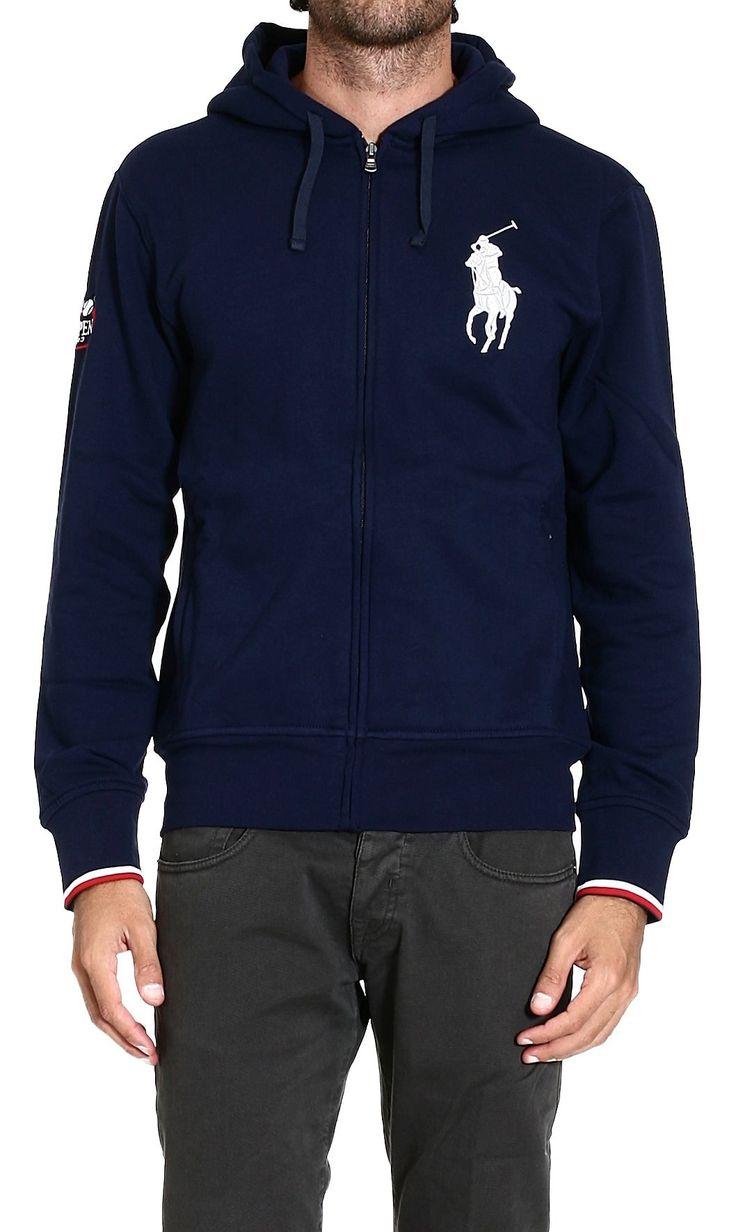Men\u0027s Green Fleece Full Zip Hoodie. PoniesPolo Ralph LaurenHoodsSweatshirts.  Polo ralph lauren Sweater Sweatshirt with Hood Big Pony ...