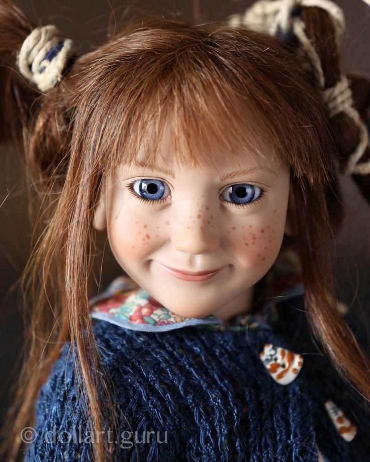 Trintje. Коллекционная кукла Цвергназе (Zwergnase)