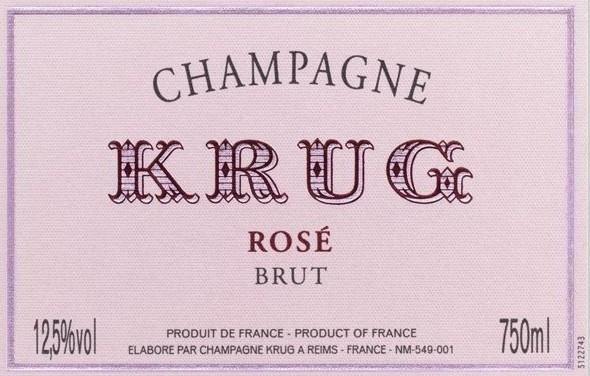NV Krug Champagne Brut Rosé