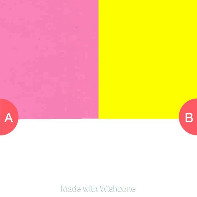Which colour makes you happy vote on wishbone and follow me smiley282