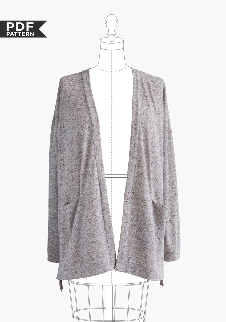 Oh, how I wish I knew someone who would make this for me!  Driftless Cardigan PDF
