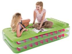 Could come in handy in the event of visitors.  Take Along - Dorm Seating & Bed - College Dorm Furniture Cool Stuff For College Furniture Fun Items Inflatable