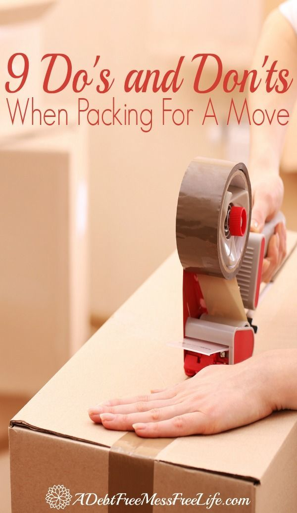 Are you packing up for a move? Whether it be around the corner or long distance, you'll want to use our packing tips and tricks to make it easy and organized!
