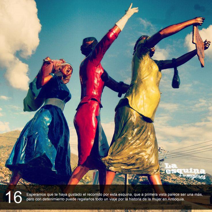 Fotogalería 'La esquina de las mujeres', realizado para el Portal Educativo de Medellín cuando era administrado por el Programa Medellín Ciudad Inteligente. Fotografías y texto: Carlos Julio Álvarez Restrepo.