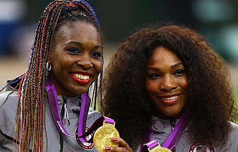 serema williams e sorella | Quattro medaglie olimpiche per Venus e Serena Williams
