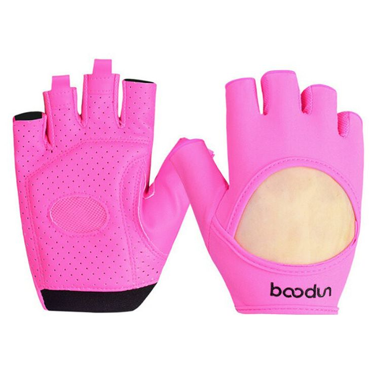 gym gloves Gym Body Building Training Fitness Gloves Sports Weight Lifting Exercise Slip-Resistant Gloves For Women yoga gloves