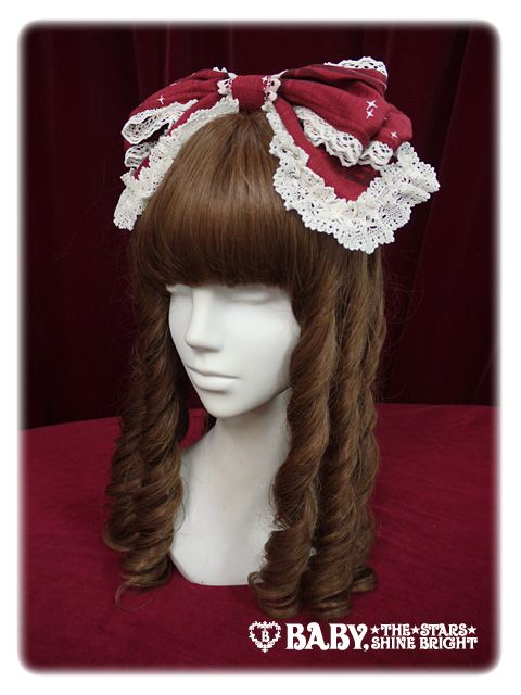 Alice and the Pirates Charme de Rouge ~ Red shoes only for me ~ ribbon head bow