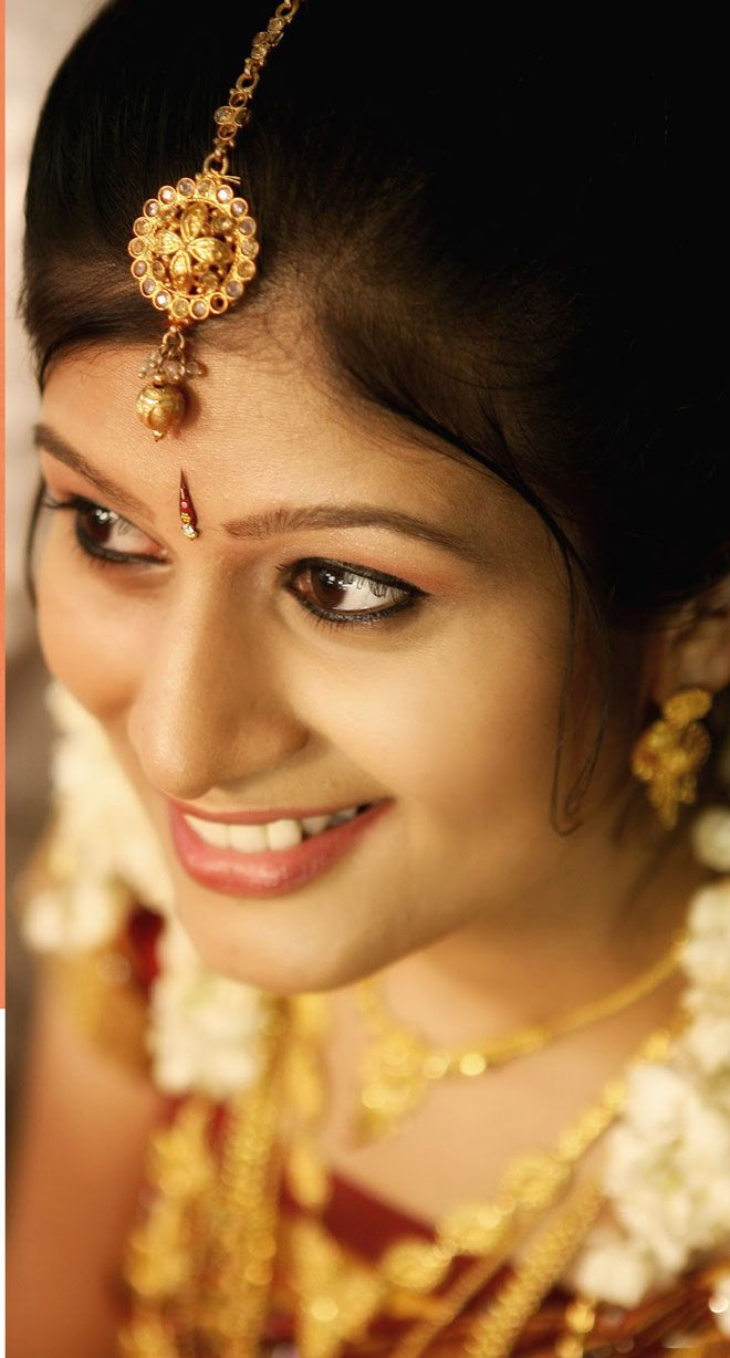 20 best images about Kerala wedding makeup on Pinterest | Brides, Bridal hair and Parlour