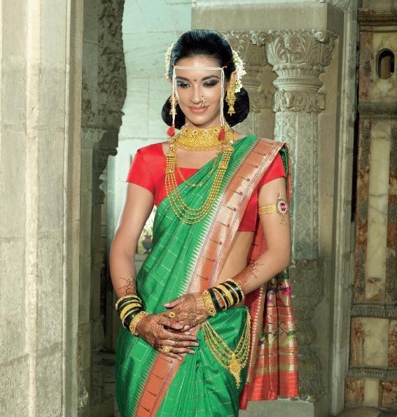 Wedding Hairstyle Maharashtrian: Maharashtrian Wedding Style