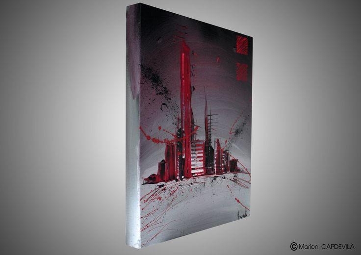 1000 ideas about tableau peinture acrylique on pinterest tableau peinture - Tableau acrylique moderne ...