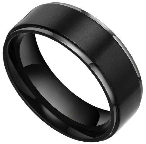 8mm Black Flat Brushed Matte Titanium Wedding Bands Rings for Men Women Comfort Fit Size 7.5 to 13 (13) TIGRADE,http://www.amazon.com/dp/B00DDFJX3E/ref=cm_sw_r_pi_dp_jRRvsb1A1GD3R8GD