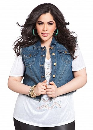28 best images about Plus size jean jackets and vest on Pinterest ...