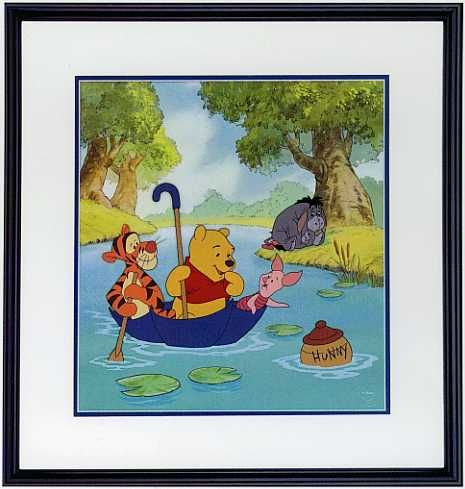 Winnie the Pooh and the Honey Tree - Pooh's Hunny Hunt - Walt Disney Art Classics - World-Wide-Art.com - #Disney #WinniethePooh