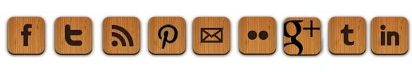 Greatfun4kids: Wooden Social Media Button Collection - super easy to use